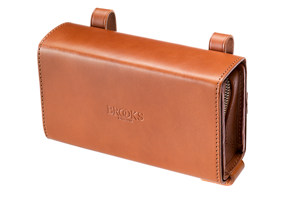 Brooks D-Shaped Tool Bag, honey