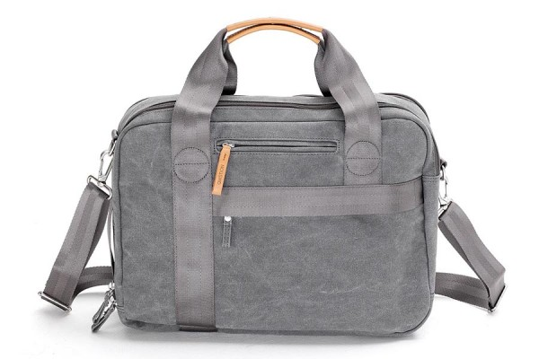 Qwstion Office Bag washed grey