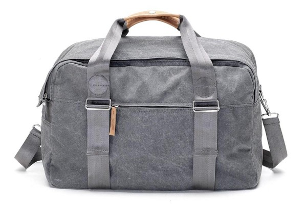 Qwstion Weekender washed grey