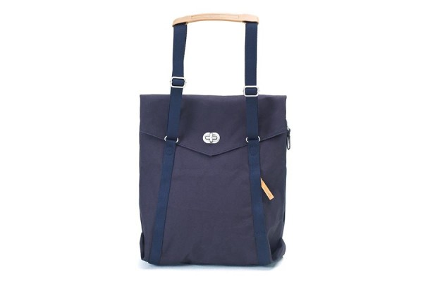 Qwstion Tote organic navy